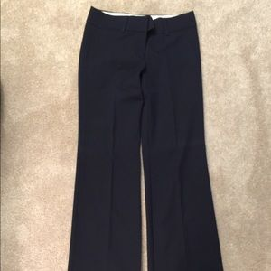 Navy Loft trousers